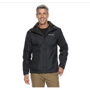 NWT Columbia packable rain shell jacket ultralight